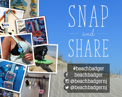 Snap and Share: #beachbadger
